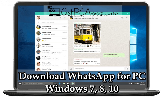 descargar whatsapp para windows 10 home