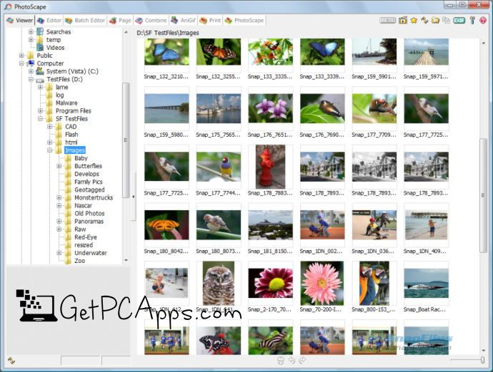 Download PhotoScape Image Editor Software for Windows 7, 8, 10