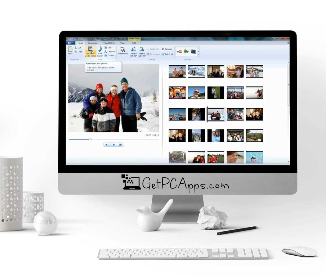 Windows Movie Maker 12 Final Offline Setup Windows 7, 8, 10