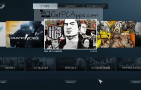 Download Steam Gaming Offline Installer Setup for Windows 7, 8, 10