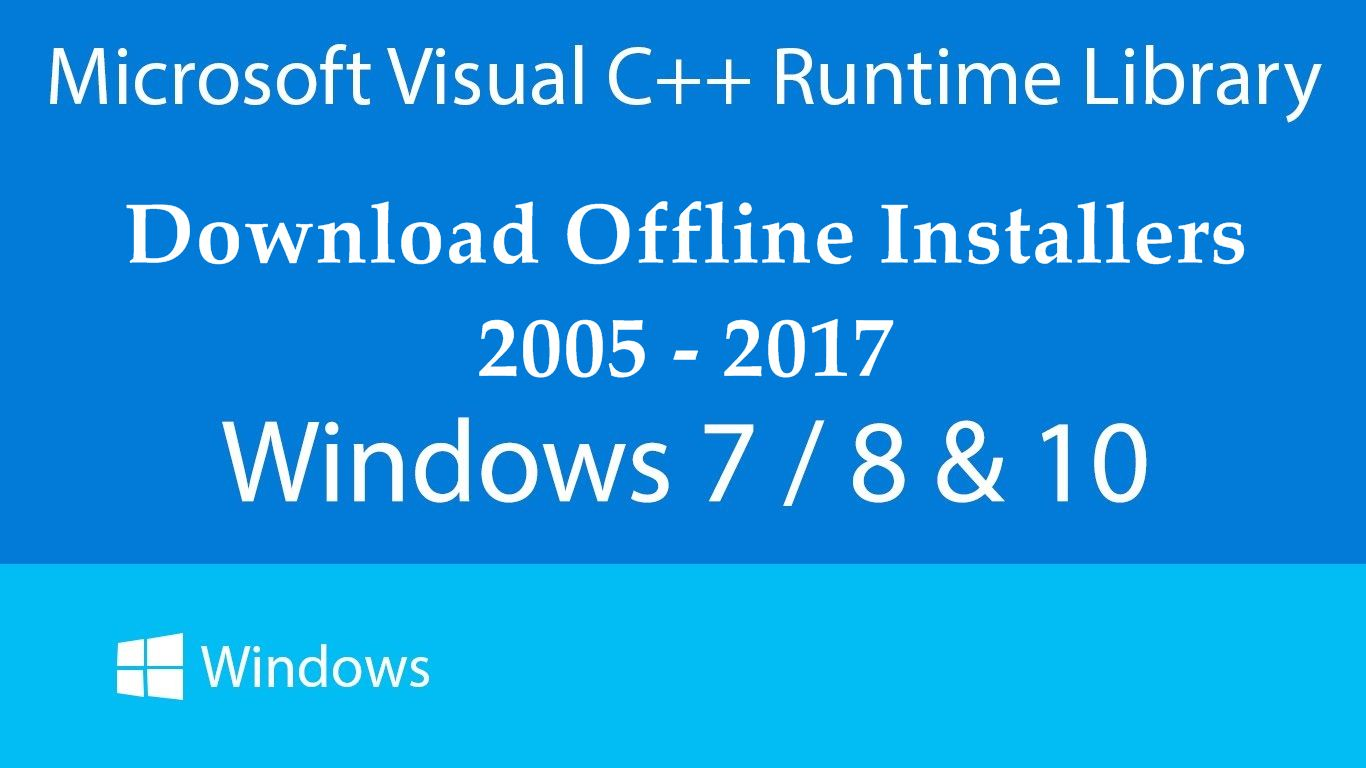 64-bit visual c++ redistributable for visual studio 2017 android