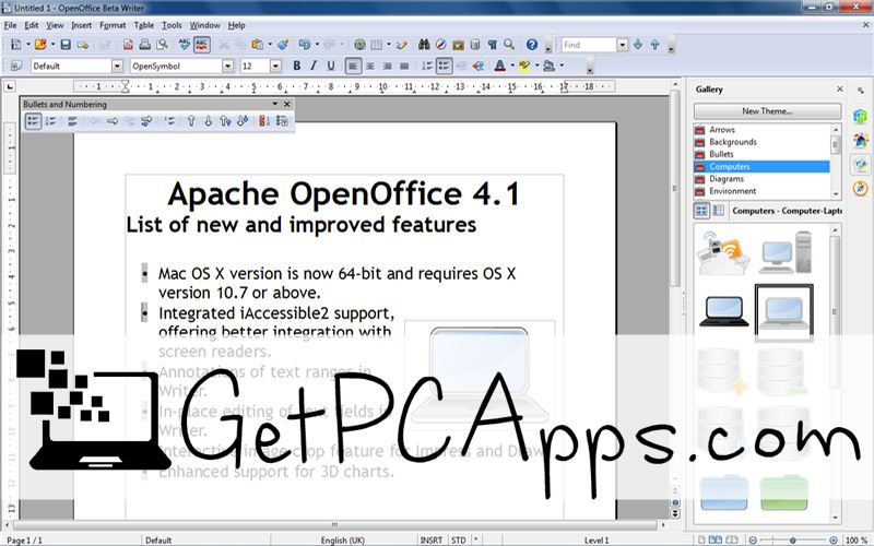 Download OpenOffice 4.1.5 Offline Setup for Windows 7 | 8 | 10