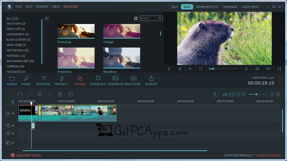 Download Filmora Video Editor Offline Installer Setup 9.1.1 [Windows 10, 8, 7]