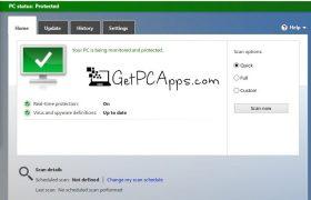 Download Microsoft Security Essentials Offline Installer Setup for Windows 7   Vista