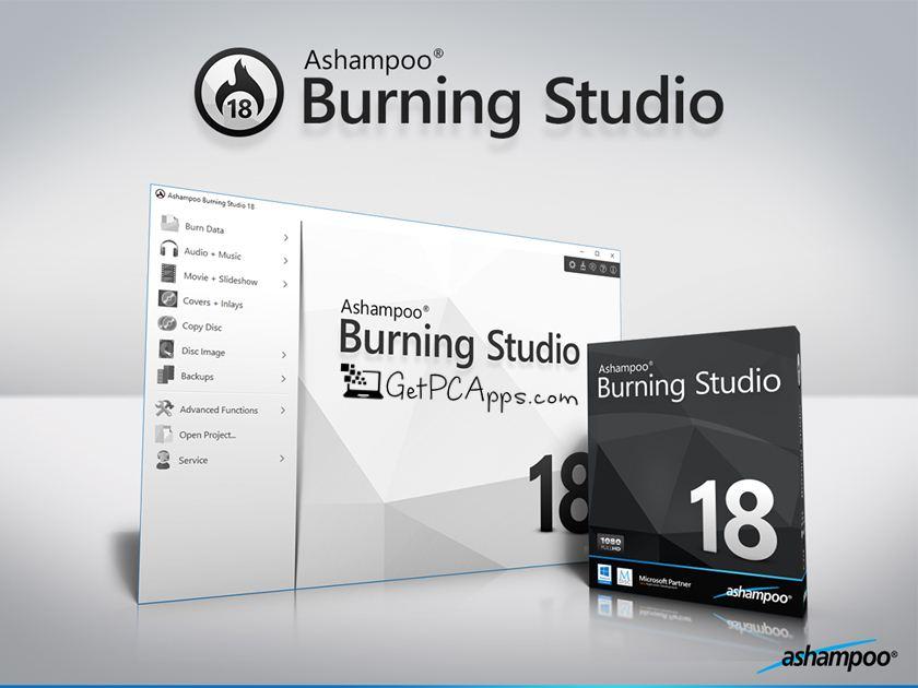 Ashampoo Burning Studio 18 Offline Installer Setup For Windows 7, 8, 10