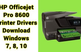 HP Officejet Pro 8600 Printer Drivers N911a for Windows 7, 8, 10