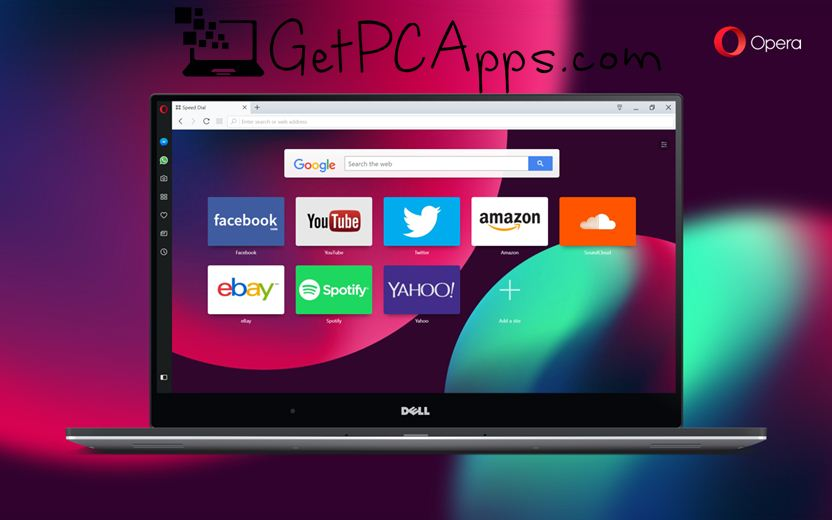 Opera Web Browser 55 Offline Installer Setup for Windows 7, 8, 10