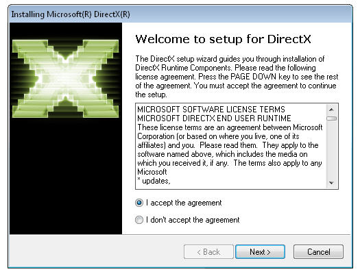 How to install the latest version of DirectX