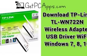 Download TP-LINK TL-WN722N Wireless Adapter USB Driver WiFi Windows 7, 8, 10