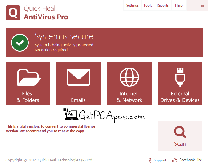 Quick Heal Antivirus 17 Pro Offline Installer Setup for Windows 7, 8, 10