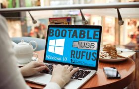 How to Install Windows 10 ISO from Bootable USB with Rufus?