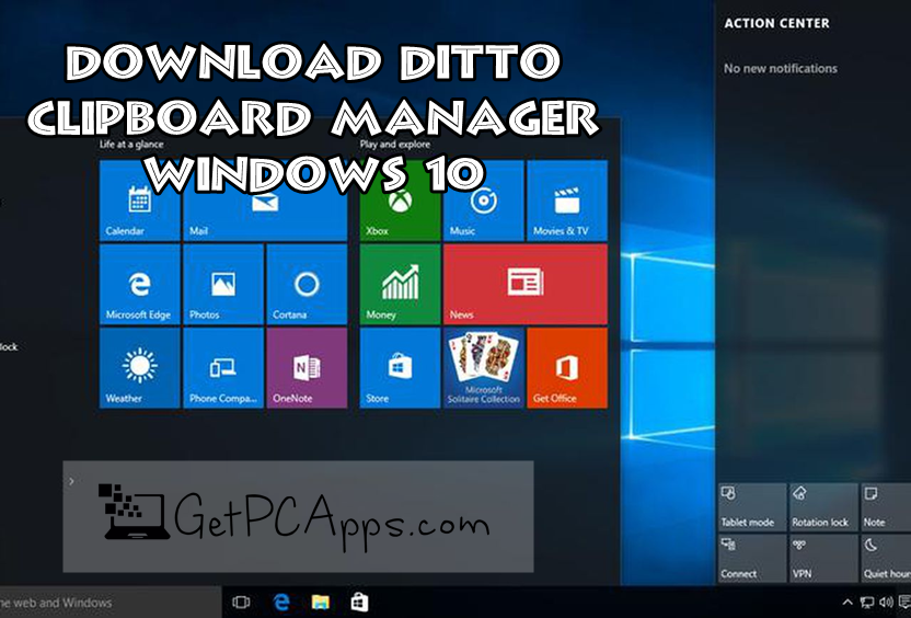 Ditto Clipboard Manager to Save Multiple Copy Paste Items in Windows 7, 8, 10