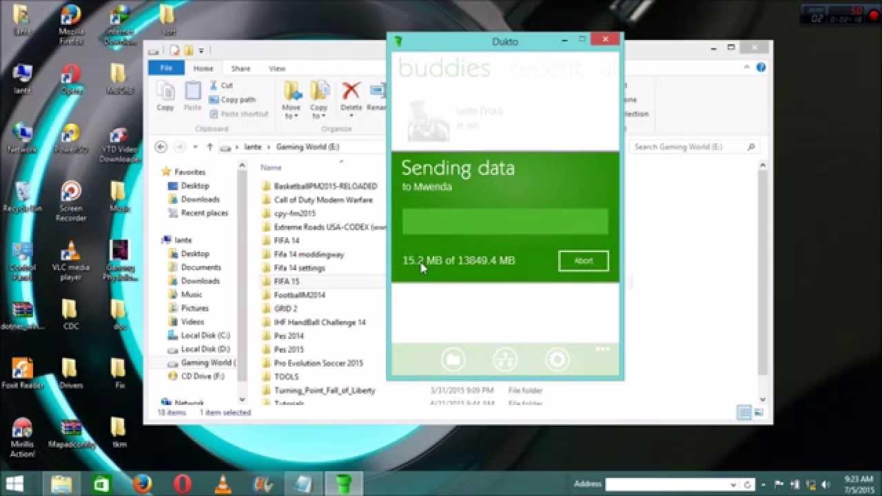 Download Dukto R6 Wireless File Transfer Offline Setup Windows 10, 8, 7