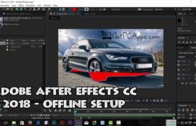 Download Adobe After Effects CC 2018 Offline Installer Setup for Windows 10, 8, 7