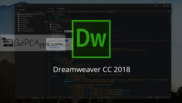 dreamweaver software free download for windows xp