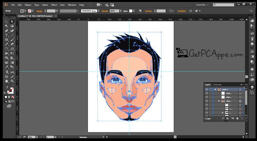 Adobe Illustrator CC 2018 Offline Setup [Direct Links] Windows 10, 8, 7
