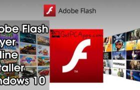 Adobe Flash Player Offline Installer Setup 32.0.193 [Windows 10, 8, 7]