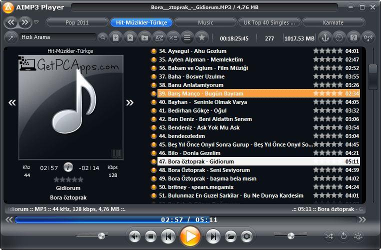 AIMP Music Player 4.52 Offline Installer Setup for Windows 10, 8, 7