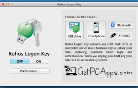 Rohos Logon Key Lock USB Software Offline Setup [Windows 10, 8, 7]