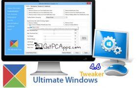 Ultimate Windows Tweaker 4.6 Offline Setup [2019 Windows 10 PC]
