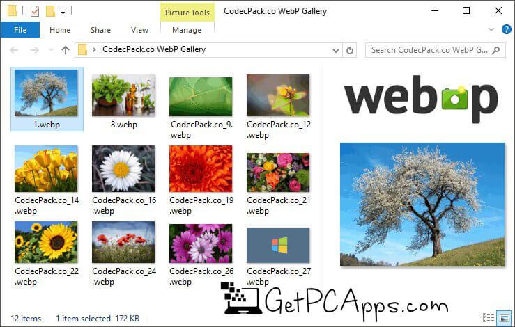 Open WebP Image in Windows | WEBP Codec Free Download