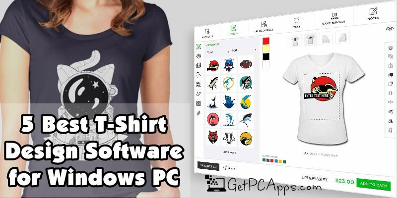 5 Best T Shirt Design Software In 2020 For Windows 10 Laptops Pc Get Pc Apps