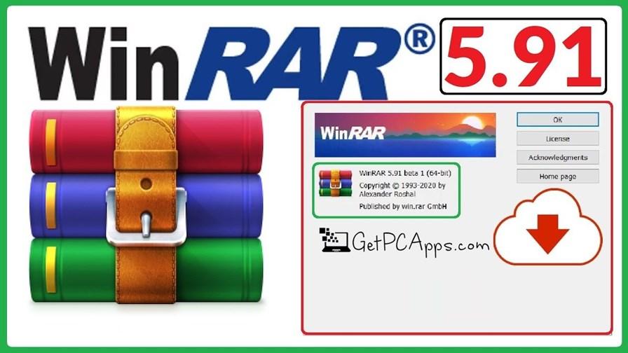 WinRAR 5.91 Setup Download Windows 10, 8, 7