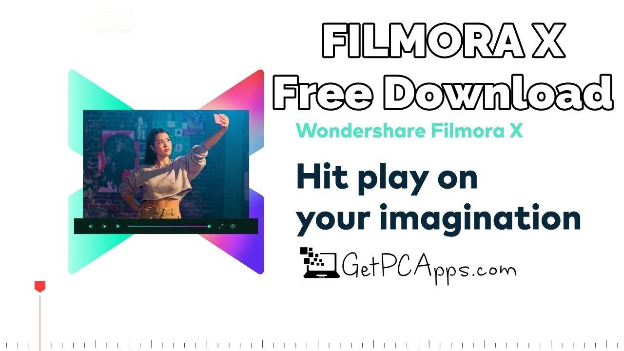 Download Filmora X / Filmora 10 Free Setup 2022 [Windows, 10, 8, 7]
