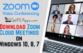 Zoom Cloud Meetings Windows Setup Download